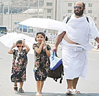 """""""تعليم مكة"""" و""""تنسيقي"""" حجاج الداخل يدرسان خدمة ورعاية أطفال الحجاج"""