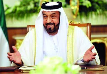 الشيخ خليفة بن زايد آل نهيان