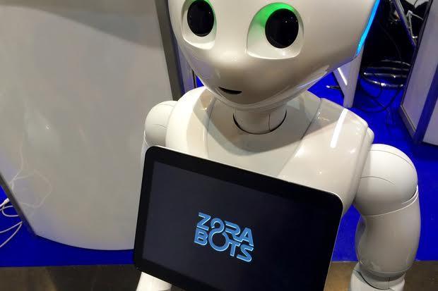 روبوتات لاستقبال وتوجيه مرضى المستشفيات في بلجيكا