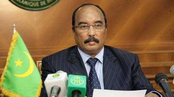 رئيس موريتانيا ولد عبد العزيز