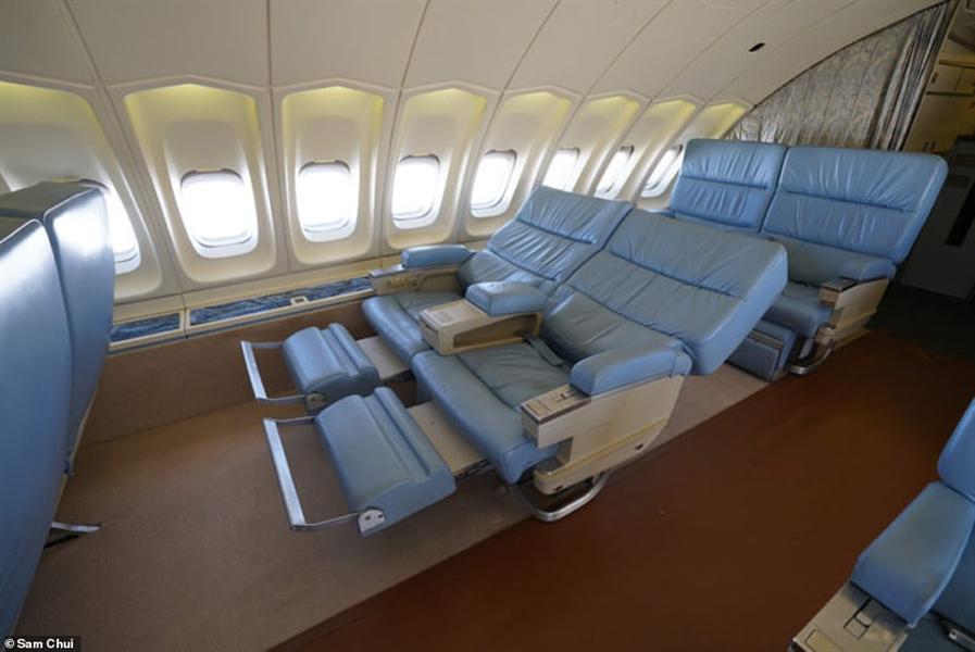 نتيجة بحث الصور عن فيديو من داخل طائرة بوينج تحولت إلى قصر طائر بقيمة 200 مليون دولار