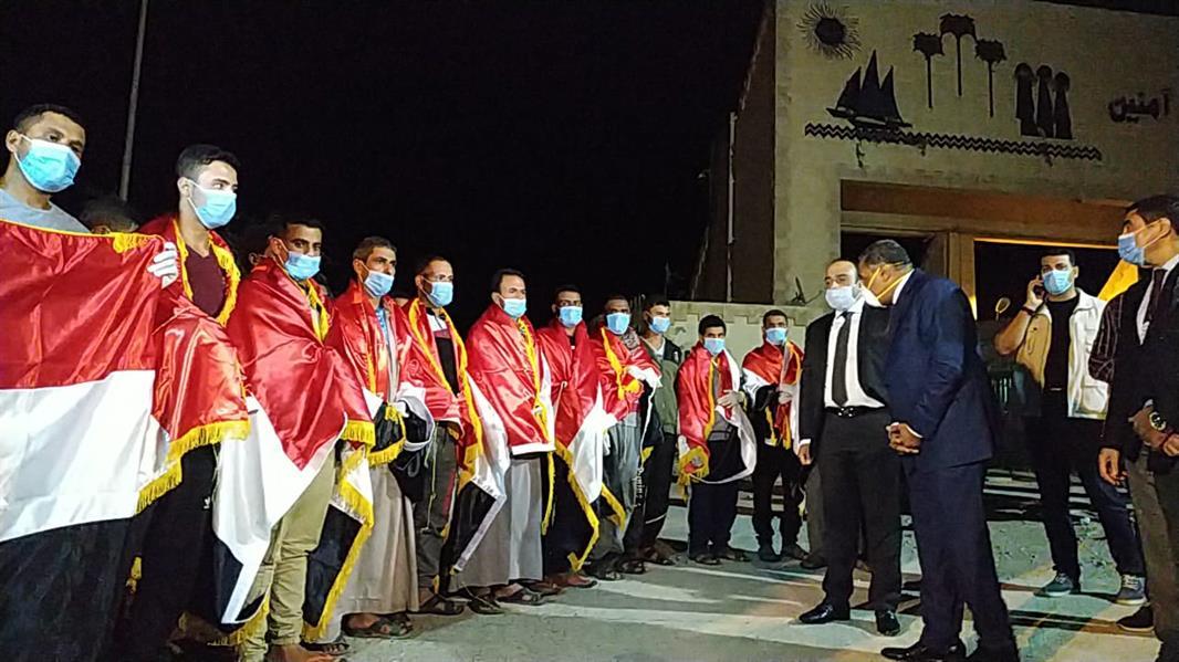 عودة 23 مصريًا من ليبيا كانوا محتجزين من قبل مسلحين