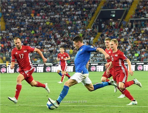 إسبانيا تنتصر بصعوبة وإيطاليا تسحق ليشتنشتاين في تصفيات المونديال