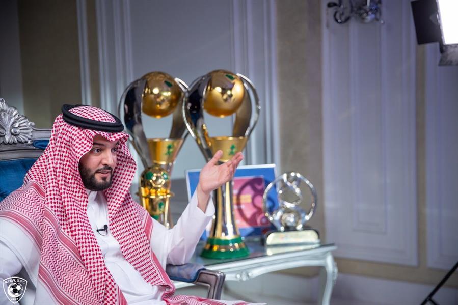 فهد بن نافل رئيس مجلس إدارة نادي الهلال