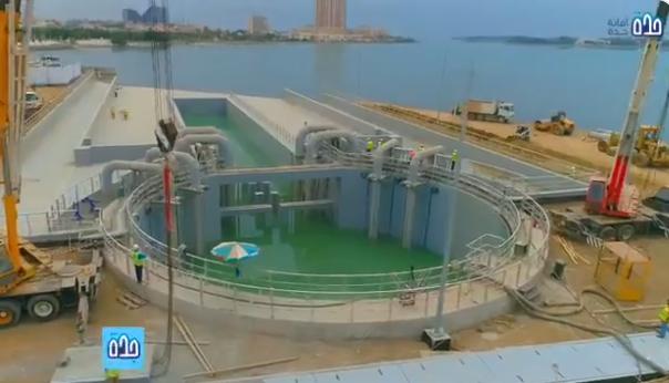 أمانة جدة تنتهي من إنشاء محطة لتصريف مياه الأمطار