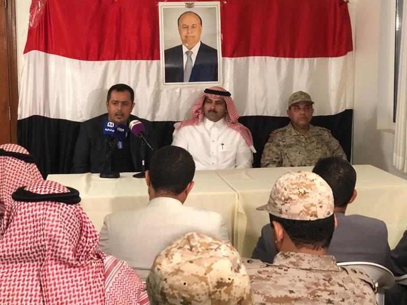 """وصول السفير السعودي في اليمن إلى """"سقطرى"""".. ومتحدث التحالف: وجود القوات السعودية غرضه التدريب"""