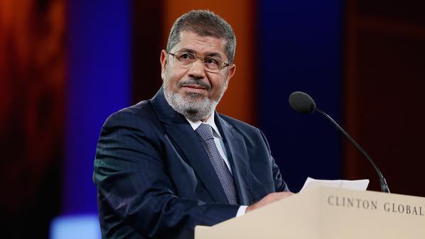 الرئيس المصري محمد مرسي