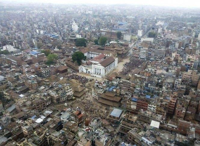 4138 حصيلة قتلى زلزال نيبال حتى الآن