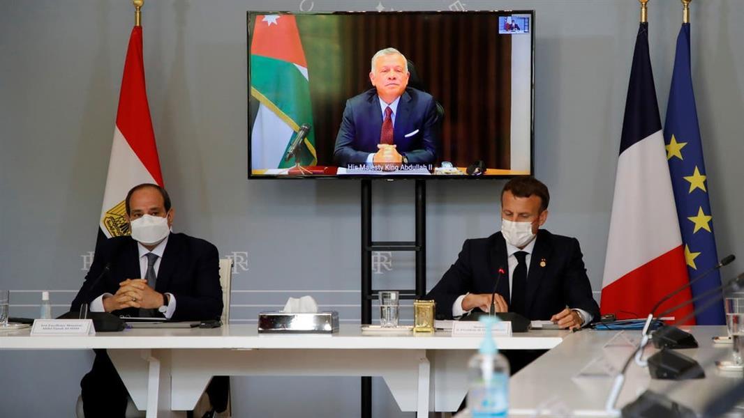بيان أردني ـ مصري ـ فرنسي مشترك حول تنسيق المساعدات الإنسانية للأراضي الفلسطينية المحتلة وقطاع غزة