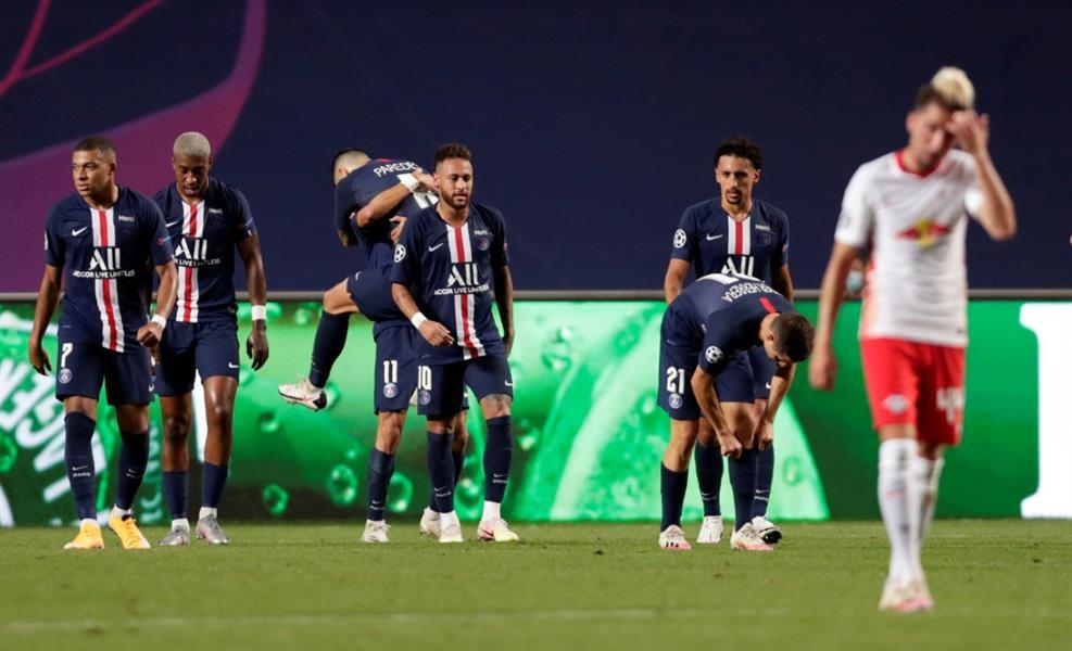 مباراة باريس ولايبزيج