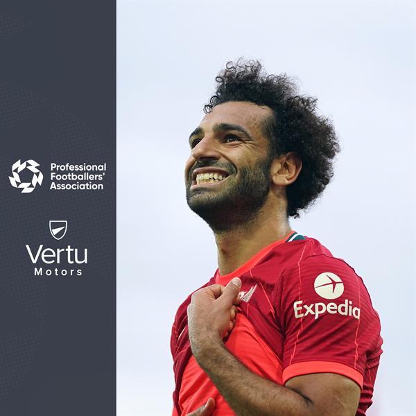 محمد صلاح يفوز بجائزة رابطة اللاعبين المحترفين كأفضل لاعب في شهر سبتمبر