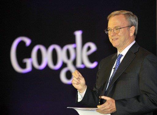 رئيس شركة غوغل ايريك شميت