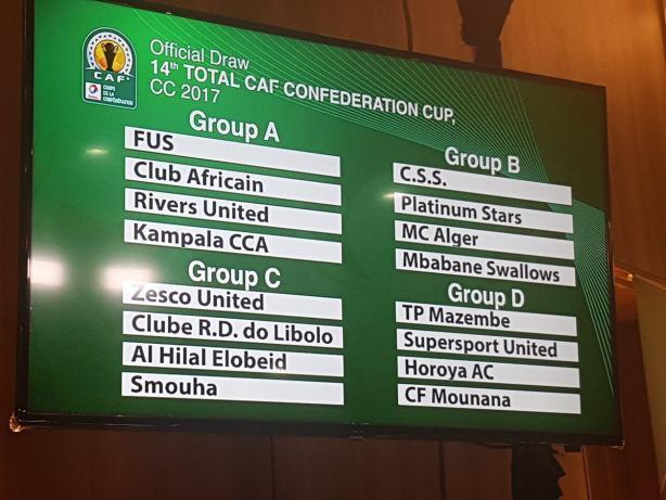 الهلال والمريخ والنجم الساحلي في مجموعة واحدة في دوري أبطال أفريقيا