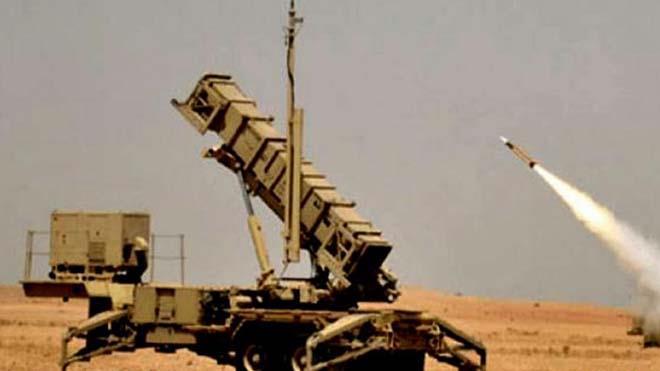 عترض وتدمر صاروخين بالستيين و(6) طائرات بدون طيار