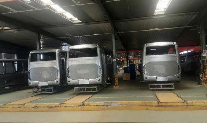 الحافلات الجديدة