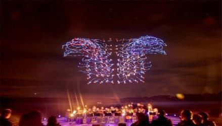 intel guinness record drone