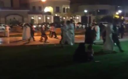 شباب يروعون متنزهين بـ الضب.. وشرطة الرياض تتدخل