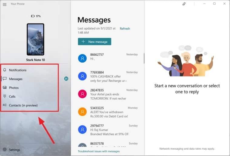 كيفية ربط هاتفك الذكي مع حاسب ويندوز 11