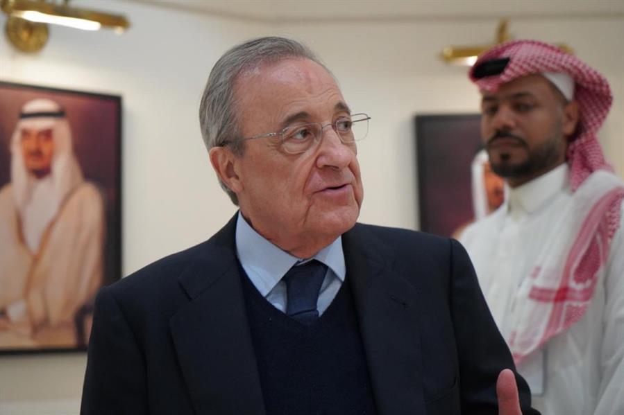 رئيس نادي ريال مدريد الإسباني فلورنتينو بيريز