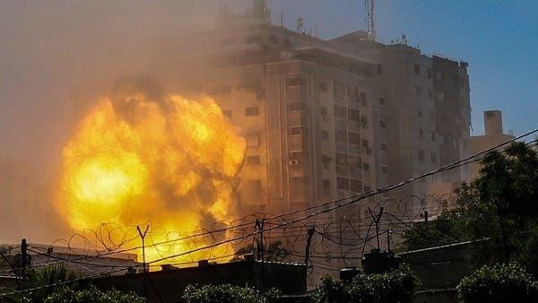 الجيش الإسرائيلي يهدم برجا سادسا في غزة