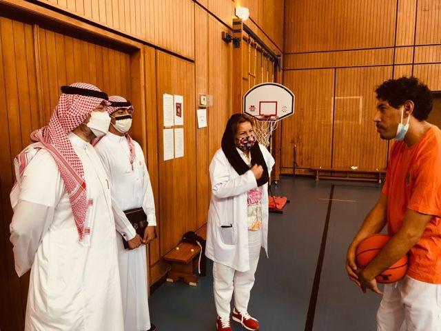 اتحاد كر السلة يوقع اتفاقية مع اتحاد الأولمبياد الخاص