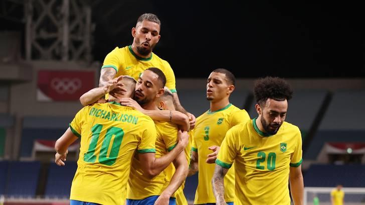 البرازيل تتأهل لربع نهائي أولمبياد طوكيو بهدف في مرمى مصر (صور)
