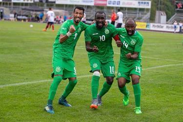"""""""أخضر الاحتياجات الخاصة"""" بطلا لكأس العالم للمرة الرابعة على التوالي"""