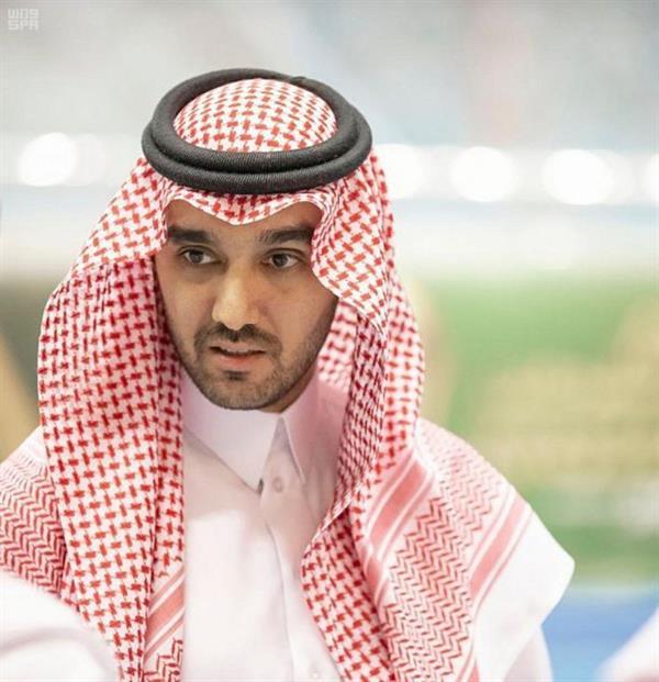 الفيصل بعد تأهل الأخضر: مبروك لوطننا الغالي
