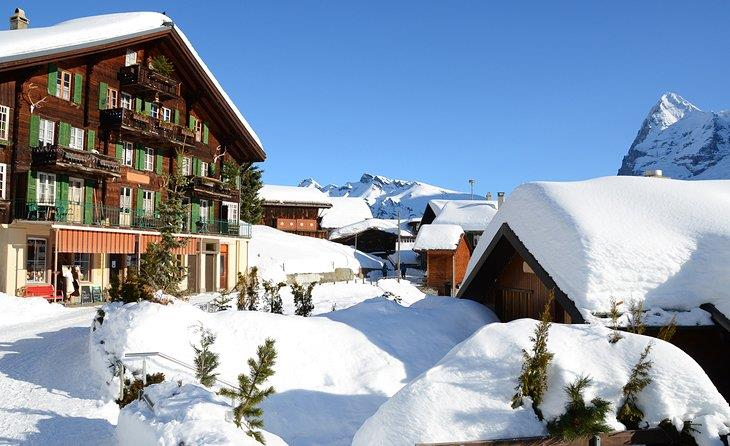 هروب 200 بريطاني من منتجع للتزلج في سويسرا كانوا محجورين صحياً فيه