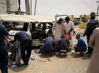 وفاة وإصابة 14 شخصاً في حادث انقلاب حافلة بجدة