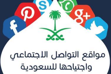 توبك انفوجرافيك مواقع التواصل الاجتماعي في السعودية