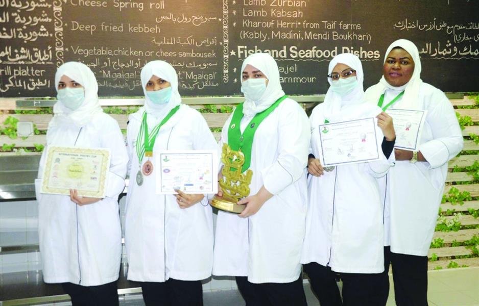 سعوديات يتفوقن في مجال الطهي