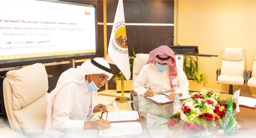 الهيئة الملكية بينبع توقع اتفاقية مع شركة وطنية لإنشاء مصنع لإنتاج أبراج توليد الطاقة من الرياح