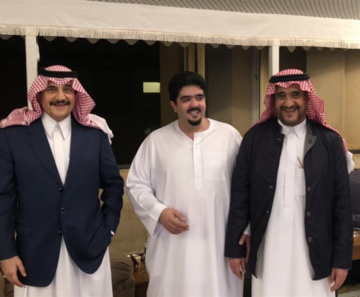أخبار 24 صور للأمير عبد العزيز بن فهد مع أخويه محمد وسعود
