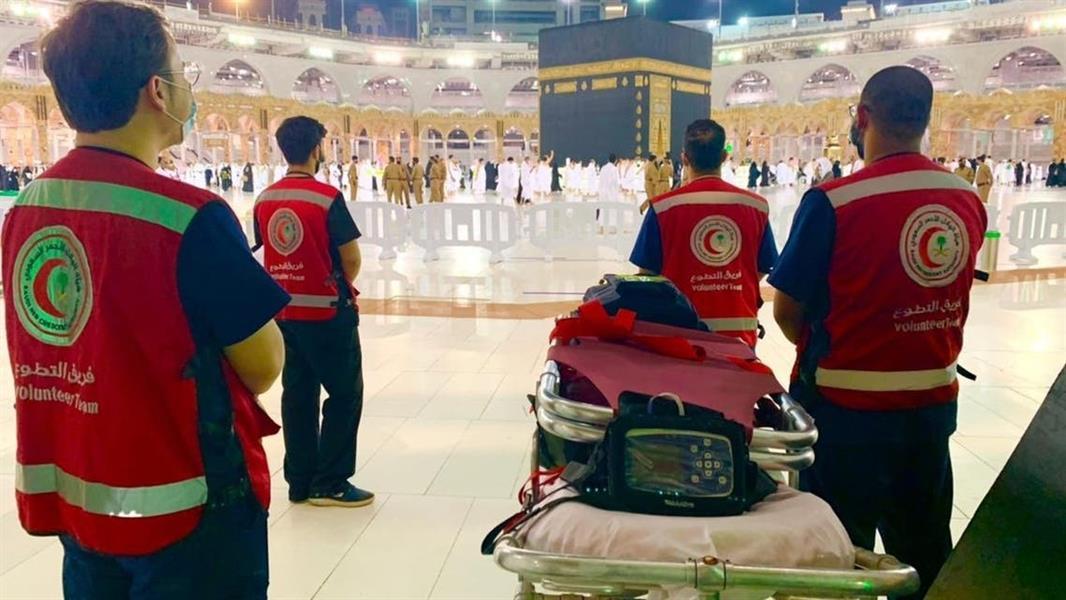 غرفة عمليات الهلال الأحمر بمكة المكرمة تتلقى أكثر من 24 ألف مكالمة منذ بدء شهر رمضان المبارك
