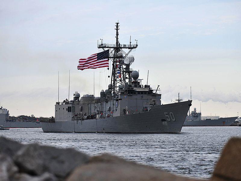 """عسكري أمريكي يؤكد العثور على أشلاء بشرية في المدمرة الأمريكية """"جون إس. مكين"""""""