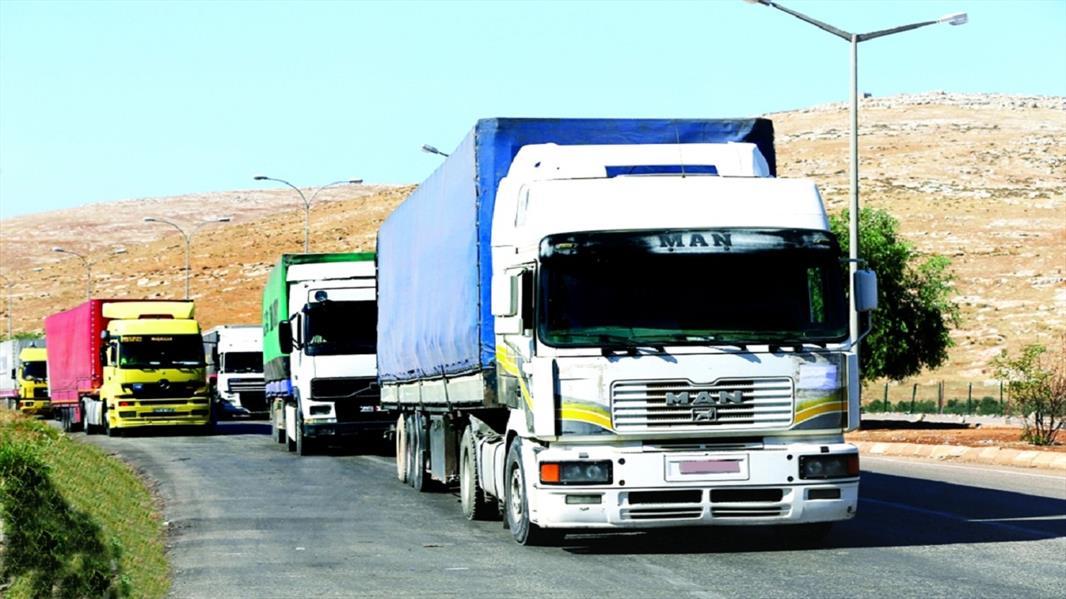 رئيس هيئة النقل: سنفعل 18 توصية لمنع تجاوزات عمل الشاحنات الأجنبية