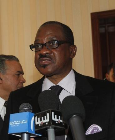 وزير خارجية السنغال مانكير ندياي في طرابلس