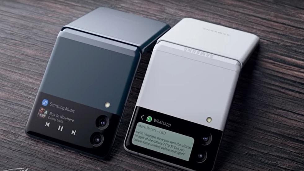 نظرة مسربة ومواصفات هواتف Samsung القابلة للطي القادمة