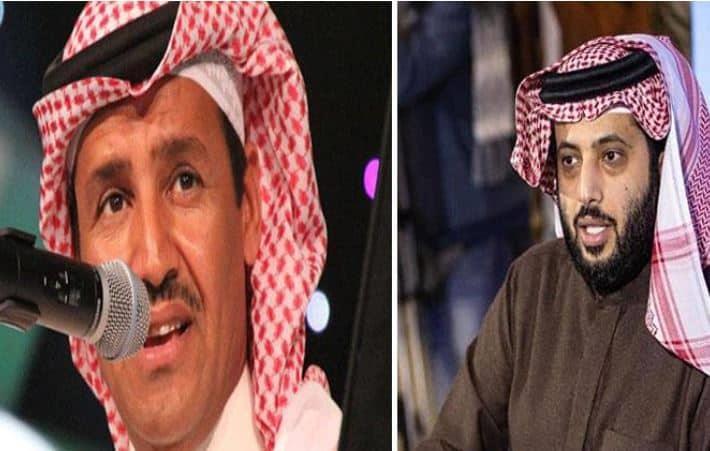 """""""يا مُرضي الحكام"""".. خالد عبدالرحمن يهدي تركي آل الشيخ أغنية جديدة"""