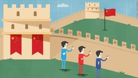 china great firewall google