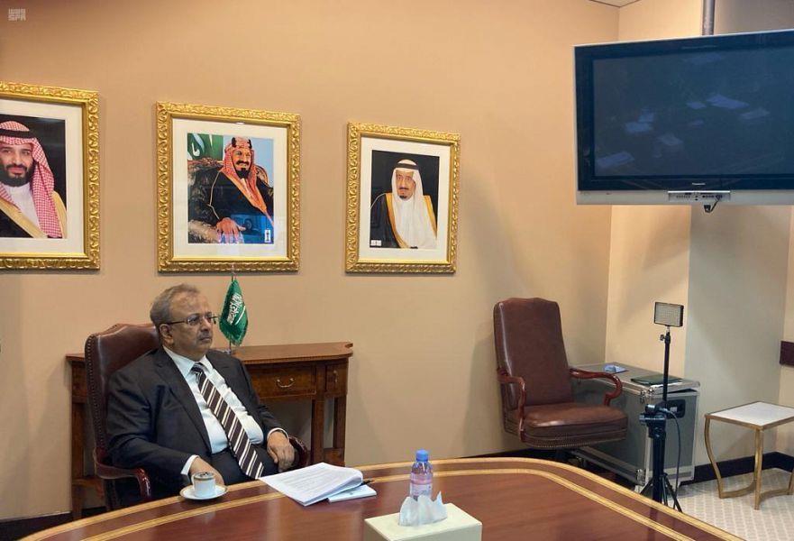 السفير المعلمي يترأس الاجتماع الثاني والعشرين للمجلس الاستشاري لمركز الأمم المتحدة لمكافحة الإرهاب