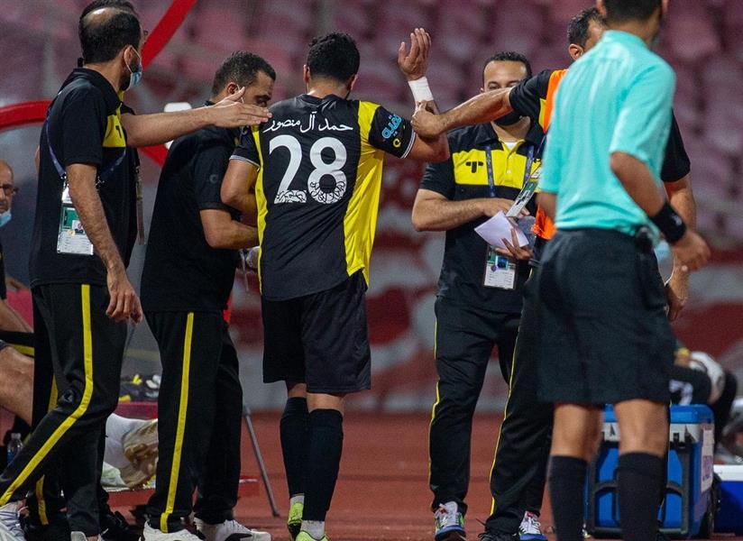 لحظة غضب حمد آل منصور