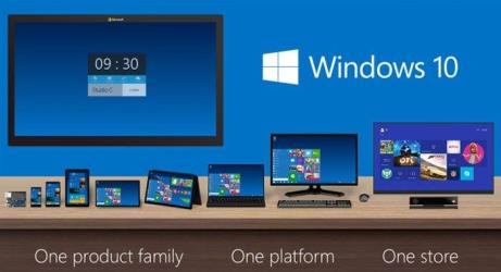 windows 10 one family