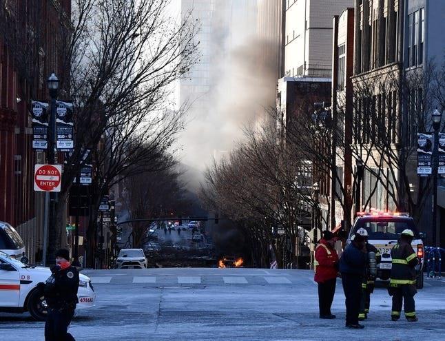 إعلان حالة الطوارئ في مدينة ناشفيل الأمريكية بعد الانفجار الذي وقع اليوم