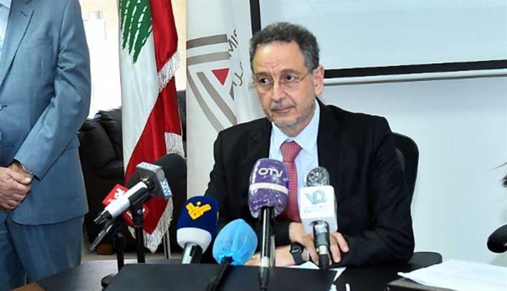 وزير الاقتصاد اللبناني السابق راوول نعمة