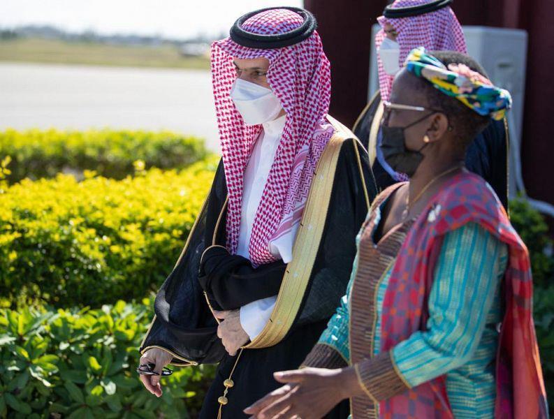وزير الخارجية يصل جمهورية تنزانيا المتحدة