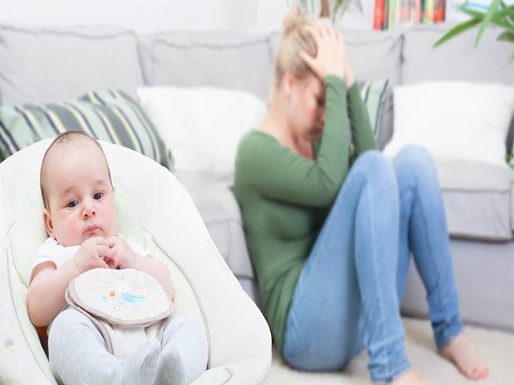 اكتئاب ما بعد الولادة