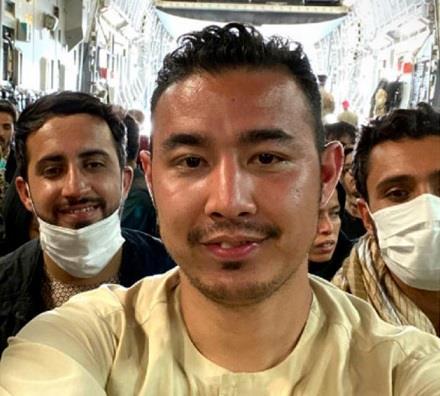 اللاجئ الأفغاني