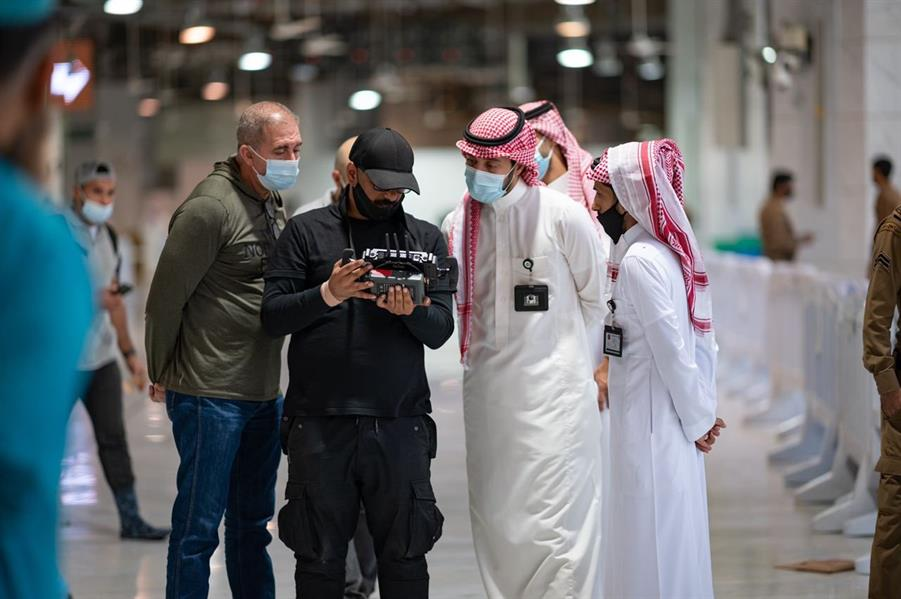 """بدء العمل لإنتاج فيلم يستعرض قصة المسجد الحرام خلال جائحة """"كورونا"""""""